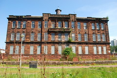 Sir John Maxwell School 1 (goatsgreetings) Tags: glasgow scotland pollokshaws abandoned derelict school building architecture arquitectura european sandstone historic
