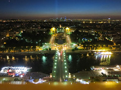 View of the Trocadero from the Eiffel Tower