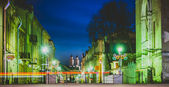 Kaunas old town at night | Lithuania #105/365