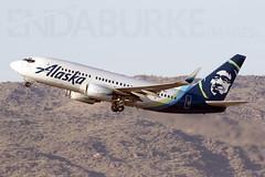 Alaska N619AS 21-5-2018 (Enda Burke) Tags: n619as alaska alaskaairlines kphx phx phoenix phoenixskyharbor skyharbor avgeek aviation boeing boeing737 boeing737700 travel takeoff departure canon canon7dmk2 arizona usa
