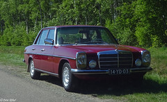 Mercedes-Benz 200D (peterolthof) Tags: peterolthof klazienaveen oldtimerdag 652018 14yd03