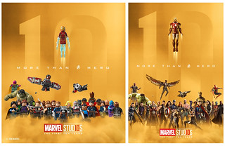 LEGO Marvel Studios The First TEN Years
