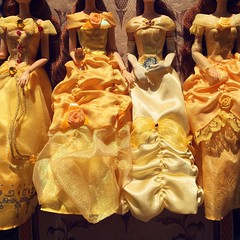 The most beautiful girl in town (Timb0Wimb0) Tags: beauty beast belle disney princess store parks doll dolls ballgown gold golden yellow french roses