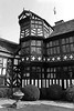 The Old Timber framed House (big_jeff_leo) Tags: old english england house architecture timberframed medieval building bw monocrome
