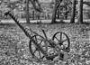 Hay Mower (Me in ME) Tags: brunswick maine mower haymower antique crooker silverefexpro bw monotone