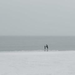 snow beach (sedregh) Tags: sylt ocean beach snow mehrfachbelichtung multipleexposure