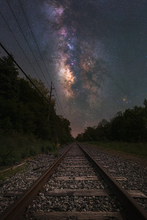 Train Tracks To The Stars