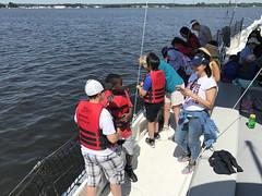 Ecology Cruise aboard Winnie (Chesapeake Bay Maritime Museum Photos) Tags: winnie estelle cbmm chesapeakebaymaritimemuseum st michaels ecology cruise miles river