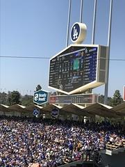 "Dodger Stadium Scoreboard • <a style=""font-size:0.8em;"" href=""http://www.flickr.com/photos/109120354@N07/41714257164/"" target=""_blank"">View on Flickr</a>"