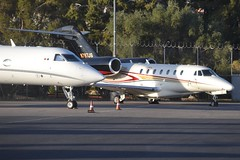 N787JS (LAXSPOTTER97) Tags: n787js executive jet management cessna citation x cn 7500048 airport aviation airplane klas