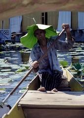Boatman - Srinagar Kashmir India (Pietro D'Angelo2012) Tags: india kashmir srinagar man