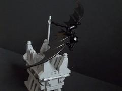 The Bat-Hang-Glider (SaurianSpacer) Tags: lego batman moc hangglider gotham