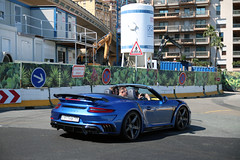 Porsche TopCar 991 Turbo S MKII Stinger GTR Cabriolet (Instagram: R_Simmerman) Tags: porsche topcar 991 turbo s mkii stinger gtr cabriolet mk2 turbos top marques tuning monaco monte carlo casino valet parking garage hotel combo harbor boulevard supercars sportcars hypercars monacocars carsofmonaco f1 carspotting