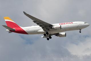 EC-MJT Iberia A330-200 Madrid Barajas