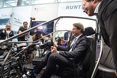 Andreas Scheuer enoys the ride in the gas-free car at the DVR exhibition stand (International Transport Forum) Tags: 2018annualsummit 2018summit annualsummit transport safety security forum itf inclusive automation connectivity autonomousvehicles risks infrastructure decarbonising roadsafety intermodal innovation cybersecurity urban governance internationaltransportforum interoperability leipzig lowcarbon ministerialsummit mobility multimodal oecd transportforum transportminister transportpolicy transportconference andreasscheuer germany saxonia deu