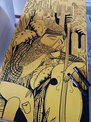 Tea Break (Alegraziani Produto Ilustrado (11) 96175.8787) Tags: posca canetapossa art arte artista artebrasileira artistabrasileiro alegraziani produtoilustrado arteemjudiai artistajudiai amarelo canvas