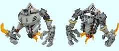 Parnised Guard (1) (Folisk) Tags: lego moc ccbs pov ldd digitaldesigner flame system
