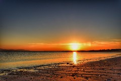 Sunset at Seamill Beach (andycaitens) Tags: seamill landscape clydecoast riverclyde sunset goldenhour ayrshire scotland