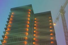 2 (mazurkevych_s) Tags: kyiv ukraine sky building tower architecture evening summer lights blur outdoor night city town