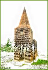 A church of Wind and Air... (2forArt) Tags: hdr church seethrough monument