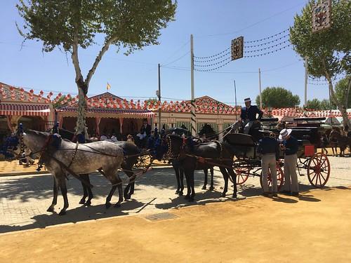 Horse Adorned for the Feria de Abril