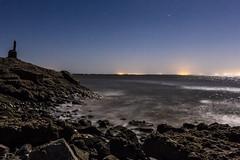 Choppy Water Under A 95% Full Moon At The Salton Sea (slworking2) Tags: niland california unitedstates us nilandmarina saltonsea lake desert night water marina nighttime