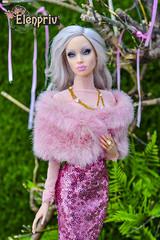 Gorgeous Sybarite Chinchilla (elenpriv) Tags: sybarite chinchilla genx 16inch 16fashion inbloom collection elenpriv elena peredreeva handmade clothes superfrock superdoll
