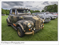 Modified Austin (Paul Simpson Photography) Tags: austin british car classiccar 1950s oldcar paulsimpsonphotography imagesof imageof photoof photosof carshow transport normanbypark scunthorpe wheels pimpmyride fancycar carphotography may2018