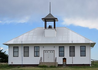 One of Only a Few Buildings in Wild Horse