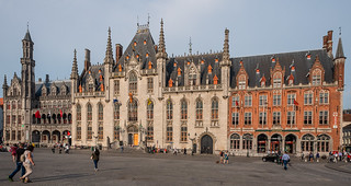 Medieval City Hall ( Market Square -  Bruges) (Fujifilm X70 Trans-X Compact with 21mm  f2.8 Fixed Prime Lens) (1 of 1)
