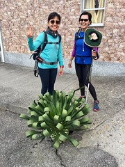 2 Women from Indonesia (The Daily Joe) Tags: camino santiagodecompostela compostela pilgrimage hiking spain iberia galicia