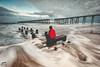 SELFIE (wardphotography1) Tags: longexposure selfie water sea leefilters hartlepool seaside seascape moody movement interesting explore