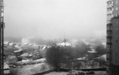 Winter III (2478255) Tags: film rangefinder fog jupiter350mmf15 leicam4 epsonv600 ilfordhp5 ilfotechc podolsk