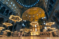 A Place For My Head (tyunkata) Tags: red city nightlife crowd town square concert hall column auditorium illuminated architecture cityscape arch hotel de ville istanbul church hagia sophia ayasofya mosque