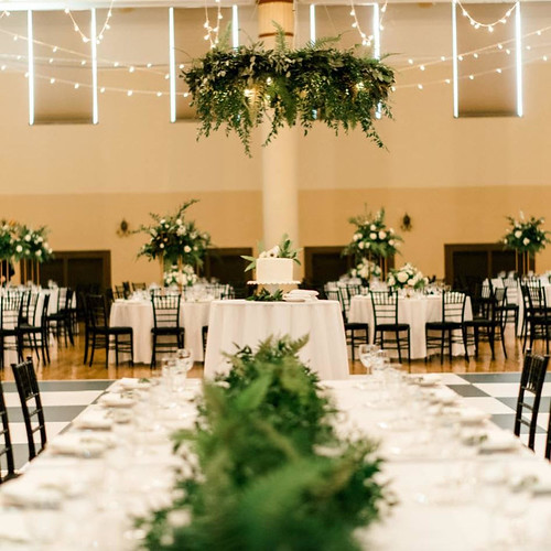 "Black Chiavari Chairs with Bistro Lighting at Scottish Rite in Des Moines • <a style=""font-size:0.8em;"" href=""http://www.flickr.com/photos/81396050@N06/26382800227/"" target=""_blank"">View on Flickr</a>"