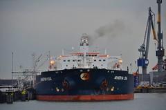 Minerva Lisa (Hugo Sluimer) Tags: portofrotterdam port haven rotterdam nederland zuidholland holland onzehaven nlrtm