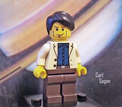 Carl Sagan minifigure (Shannon Ocean) Tags: carlsagan palebluedot science