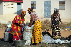 Women At Work (Alan1954) Tags: cotedivoire ivorycoast africa holiday 2017 women working candid three platinumheartaward