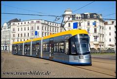 1003-2018-04-08-2-Goerdelerring (steffenhege) Tags: leipzig lvb solaris tram tramway strasenbahn streetcar niederflurwagen ngt10 1003