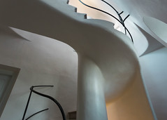 Casa Batllo (V Photography and Art) Tags: stairs curves light gaudi design interior casabatllo barcelona spain building architecture