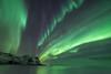 Northern Lights illuminating the night (Stefan Giese) Tags: nikon d750 polarlich northernlight auroraborealis lofoten norwegen norway walimex walimex14mmf28 14mm