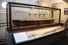 RMS Aquitania - Ocean Liner (Snappy Pete) Tags: cityofwestminster wc2 landmark london england uk greatbritain riverthames ship warship boat hmswellington museum royalnavy model painting art
