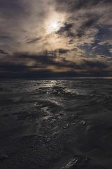 Light drama on the Sea-Ice - 1180016 (Mathieu Dumond) Tags: canada arctic nunavut kugluktuk seaice snow light dark drama sun clouds may spring portrait nature sky mathieudumond umingmakproductions lumix cans2s inexplore