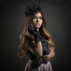 Silvia (AleQueroDodge) Tags: woman latina portrait girl model alienbees 5ds canon