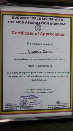 Uganda Cares Opening of ART clinic at Kitwe Health Centre IV