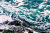 With the Current (Ad|perture) Tags: nikon d7000 canada ontario niagarafalls water current nature blue white rocks moss swirling foam waves 2017 summer