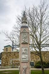 Column in Howth Harbor (Suni Lynn Lee) Tags: howth ireland column art sculpture