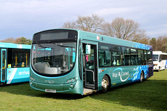 Arriva Southern Counties, 3736 - GN06EVT (James Excell's Bus and Coach Photos) Tags: volvob7rle wrightbuseclipseurban arrivakentsurrey exarrivakentthameside3812 kingshillconnect newenterprisecoaches southeastbusfestival2018