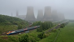 (Sam Tait) Tags: powerstation ratcliffe class66 voyager eastmidlandstrains