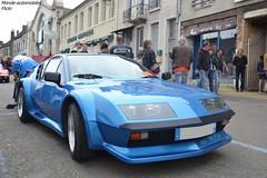 Alpine A310 V6 (Monde-Auto Passion Photos) Tags: voiture vehicule auto alpine a310 v6 bl bleu blue ancienne classique rare rareté rassemblement evenement france courtenay sportive coupé